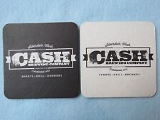 Beer Bar COASTER ~ CASH Brewing Co (Johnny's Cousin) ~ Silverdale, WASHINGTON