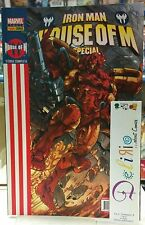IRON-MAN HOUSE OF M SPECIAL Ed. PANINI COMICS SCONTO 20%