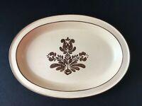 """Pfaltzgraff VILLAGE USA MARK 13-3/4"""" x 9-1/2"""" Oval Serving Platter; EUC!"""