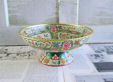 Vintage Baret Ware Tin Litho Ming Compote