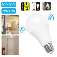 E27 Radarsensor Ambient PIR Motion 7/12W LED Birne lampe Praktische Lampe*