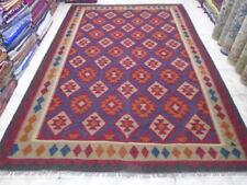 3322 # Amazing Afghan Maimana Big  Kilim Hand Made 9.11 x 6.9  ft