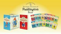 Classic Adventures of Paddington Bear Set of 15 Books + Case Free Postage