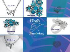 Gorgeous PILGRIM Skanderborg, Denmark Danish Butterfly Crystal Necklace & Ring
