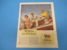 1948 Gulfpride, Gulf Oil Corp, The world's finest motor oil, Print Ad PA012
