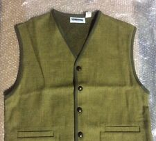 ORVIS Pure Wool Plaid SWEATER VEST Size XXL