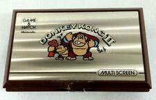 Game & Watch Multi Screen Donkey Kong 2 Nintendo 1983  Envoi rapide et suivi