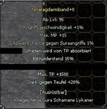 Metin2 IMBA Grotten 95er Armband - Server 72 Corvinia [Paintbild+Geschenk]