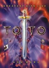 """TOTO """"GREATEST HITS LIVE...AND MORE"""" DVD NEU"""