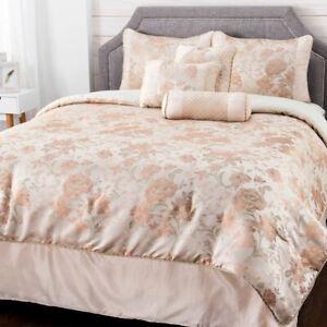 "North Shore Living ""Sweetwater"" Jacquard 7-Piece Comforter Set - Queen"