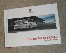 PORSCHE 911 997 GT3 RS 4.0 RILEGATO OPUSCOLO 2011