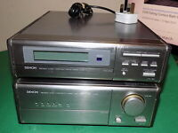 DENON Audio Component System Audio AMPLIFIER Amp D-100 and Stereo Tuner FAULTY