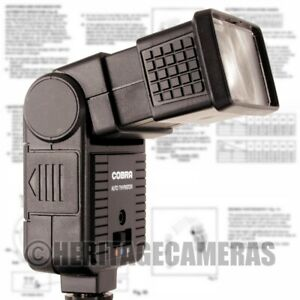 Bounce Zoom Auto and Manual Hot Shoe Flash Unit for many Mechanical Film Cameras