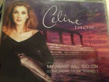 Celine Dion My Heart Will Go On CD Maxi 4track Titanic