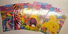 6 x Lisa Frank My Sticker Collection Vintage