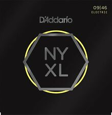 D'Addario NYXL0946 Hybrid Electric Guitar Strings Super Lt Top, Reg Bottom 09/46