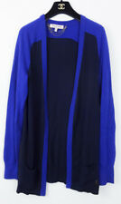 JUICY COUTURE NAVY BLUE OPEN DRAPED CARDIGAN SWEATER MEDIUM