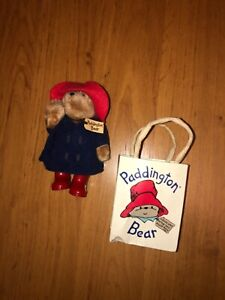 Mini Paddington Bear - 12cms by Eden Gifts - circa 1986