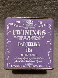Twinings Darjeeling Tin ( Tin Only )