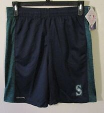 NWT True Fan by Dynasty Seattle Mariners Mens Athletic Shorts M Navy MSRP$40