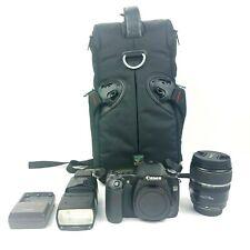 Canon EOS 30D Camera DS126131 & Ultrasonic EFS 17-85mm Lens Bundle Excellent!