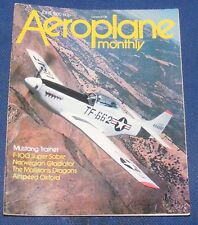 AEROPLANE MONTHLY JUNE 1980 - MUSTANG TRAINER/F-100 SUPER SABRE