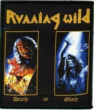 "Running Wild ""Death or Glory"" Patch/Aufnäher 601948#"