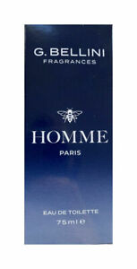 Lidl G Bellini Homme For Men Eau de Toilette Perfume Spray 75 ML