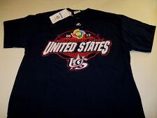 World Baseball Classic 2013 United States - Blue Team USA T-Shirt New! NWT LARGE