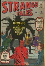 STRANGE TALES #78 (1960) FN- 5.5 ANT-MAN PROTOTYPE ISSUE