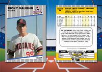 "1989 Fleer Style RICKY VAUGHN ""Wild Thing"" Custom Novelty Movie Baseball Card"