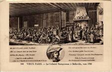 CPA PARIS (11e) Vieux Paris. Le Cabaret Ramponeau a Belleville (535730)