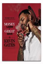Kevin Gates Luca Brasi 3 Rap Album Money Long & Great Man Poster 21 24x36 E-889
