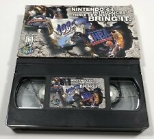 Rare Nintendo 64 Promo VHS Movie Video Tape N64 Sports NBA Games Tested Works!