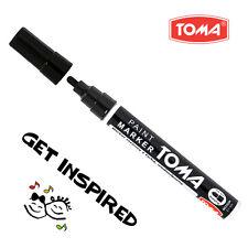 Black Permanent Oil Based Paint Pen Car Bike Tyre Tire Metal Marker Waterproof