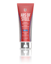 ABS OF STEEL 6 Pack Abs Fat Burner Definition Cream with 5% Coaxel 8 oz