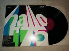 Hallo '75 - Hallo 1    Vinyl  LP Amiga