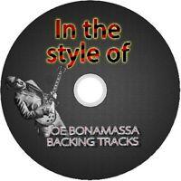 JOE BONAMASSA IN THE STYLE OF GUITAR BACKING TRACKS CD BEST GREATEST HITS BLUES