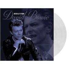 LIMITED * David Bowie Never Let It Rain * CLEAR VINYL LP * IMPORT