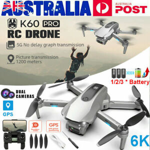5G Drones x Pro With HD 6K 1080P Camera Gps Follow Me Wifi FPV Quadcopter Drone