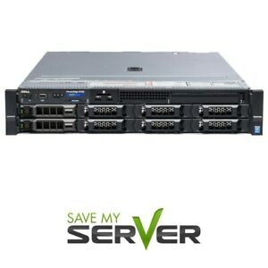 Dell PowerEdge R730 Server | 2x 2620V3 2.4Ghz = 12 Core | 16GB | 2x Trays | RPS