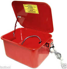 3.5 Gallon Parts Cleaner Washer with Electric Pump Tool Cleaning shop tools