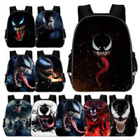3D Print Venom Children Backpack Student Bag School Bag Shoulder Bag Daypack