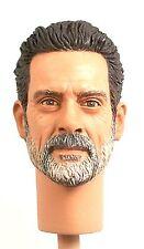 1:6 Custom Head of Jeffrey Dean Morgan as Negan Version 2 from The Walking Dead