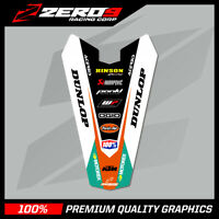 KTM SX 85 2003-2012 REAR FENDER DECAL MX GRAPHIC MOTOCROSS GRAPHICS - TI