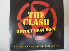The Clash   Revolution Rock  One Hour Radio Special CD