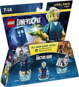 LEGO SEALED DIMENSION 71204 12th Doctor Dr. Who K-9 Tardis Peter Calpaldi 71257