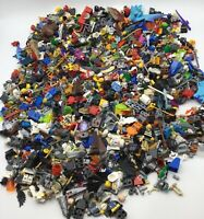 LEGO HUGE 2.8 POUND LOT OF MINIFIGURE BODY PIECES PEOPLE ACCESSORIES PARTS BULK