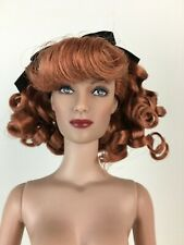 Hollywood starlet Joan Crawford Red curly hair Nude doll only Tyler Tonner