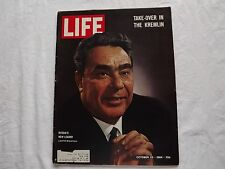 LIFE Magazine October 23 1964 ~ Take-Over in The Kremlin ~ Olympics  ~ 60's Ads